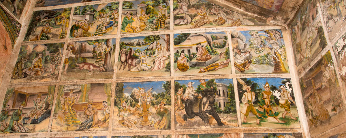 Myanmar-Monywa-Hpo_Win_Taung-Wall_Paintings