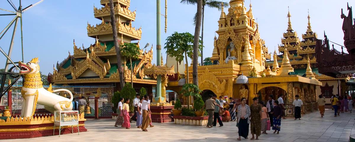 Myanmar - Kyauktan - Ye Le Pagoda