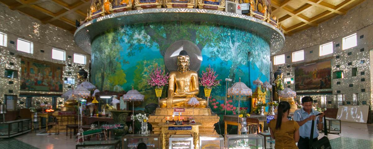 Myanmar - Yangon - Kaba Aye Pagoda