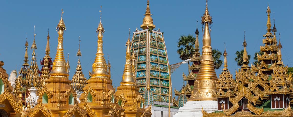Myanmar - Yangon - Shwe Dagon Pagoda