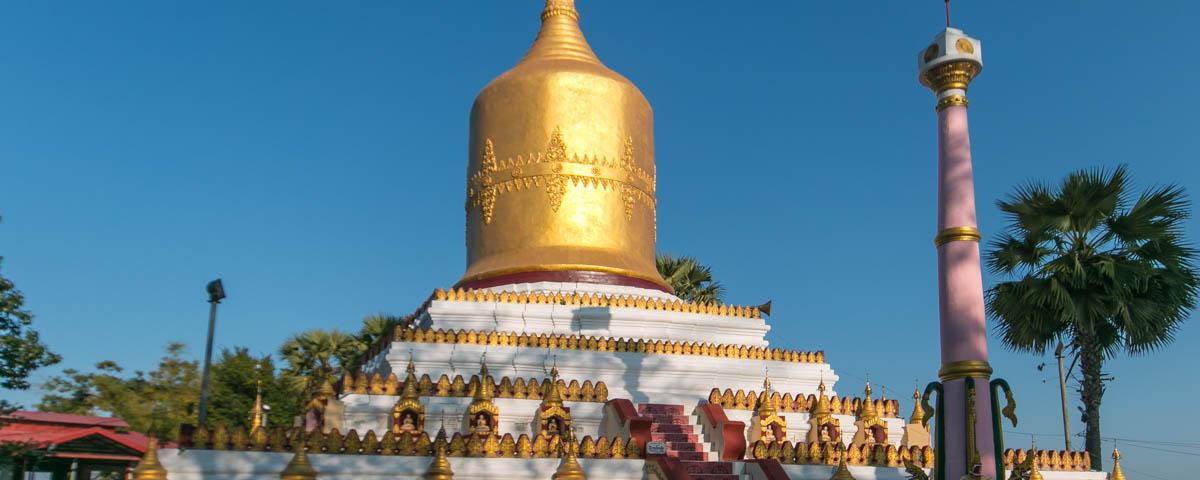 Myanmar - Pathein - Kyaik Thoe Zedi Taw