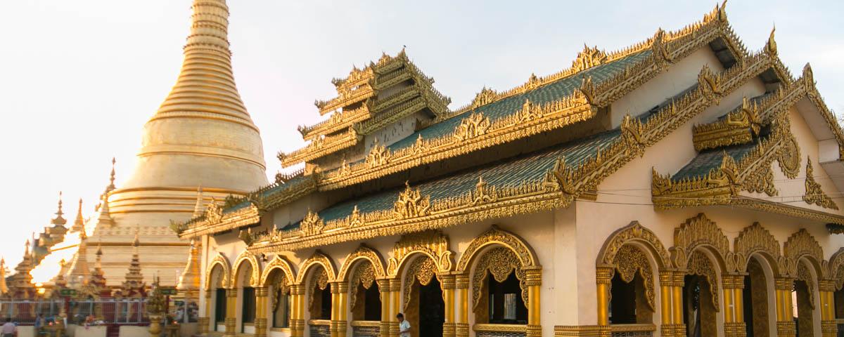 Myanmar - Pathein - Shwe Mokh Taw Pagoda