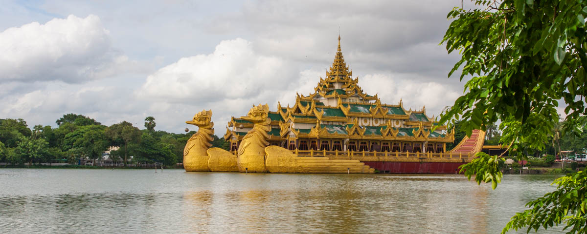 Myanmar - Yangon - Karaweik Restaurant